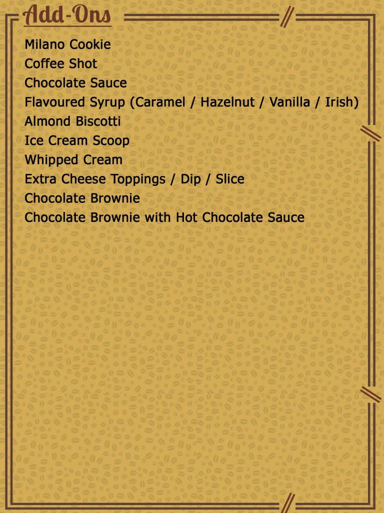menu 14